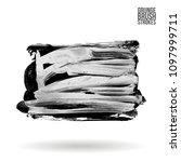 grey  brush stroke and texture. ...   Shutterstock .eps vector #1097999711
