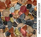 river stones background.... | Shutterstock . vector #1098025289