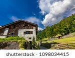 heididorf of maienfeld in...   Shutterstock . vector #1098034415