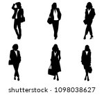 vector illustration of six... | Shutterstock .eps vector #1098038627