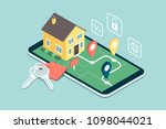 find your dream home  model... | Shutterstock .eps vector #1098044021