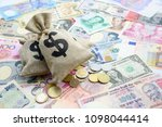 monetary inflation   interest... | Shutterstock . vector #1098044414