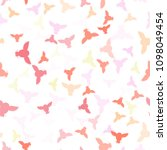 seamless vector pattern with... | Shutterstock .eps vector #1098049454