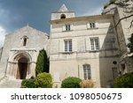 medieval village in france | Shutterstock . vector #1098050675