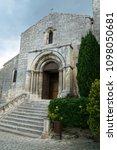 medieval village in france | Shutterstock . vector #1098050681