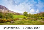 beautiful panoramic landscape... | Shutterstock . vector #1098081554