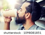 people  drinks  leisure and...   Shutterstock . vector #1098081851
