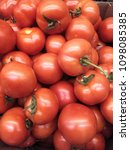 a lot of tomato | Shutterstock . vector #1098085385