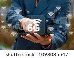 6g networking concept.... | Shutterstock . vector #1098085547