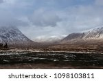 the buachaille  is a mountain...   Shutterstock . vector #1098103811