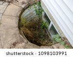 view looking down into a... | Shutterstock . vector #1098103991