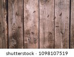background of old wood boards ...   Shutterstock . vector #1098107519