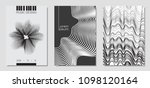 cover design templates set with ... | Shutterstock .eps vector #1098120164
