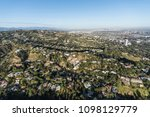 aerial view of hillside and...   Shutterstock . vector #1098129779