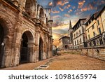 arles  france  the ancient... | Shutterstock . vector #1098165974