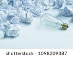 different idea concept with... | Shutterstock . vector #1098209387