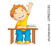 vector illustration of school... | Shutterstock .eps vector #109822181
