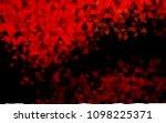 dark red vector blurry triangle ... | Shutterstock .eps vector #1098225371