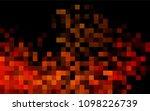 dark orange vector polygonal... | Shutterstock .eps vector #1098226739