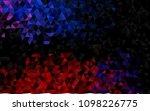 dark blue  red vector triangle... | Shutterstock .eps vector #1098226775