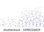 light purple vector pattern.... | Shutterstock .eps vector #1098226829