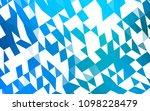 light blue vector polygonal... | Shutterstock .eps vector #1098228479