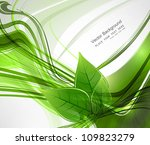 abstract vector natural eco... | Shutterstock .eps vector #109823279
