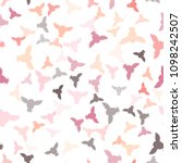 seamless vector pattern with... | Shutterstock .eps vector #1098242507