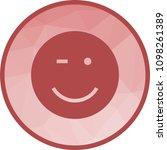 winking  wink  man   Shutterstock .eps vector #1098261389