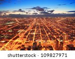 Chicago Downtown Aerial...