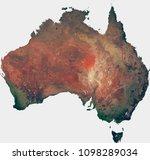 large  143 mp  satellite image... | Shutterstock . vector #1098289034