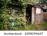 neglected messy overgrown...   Shutterstock . vector #1098294647