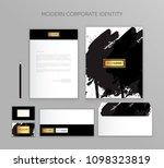 corporate identity business set....   Shutterstock .eps vector #1098323819