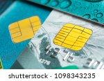 credit card close up shot | Shutterstock . vector #1098343235