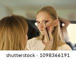 face girl for magazine cover....   Shutterstock . vector #1098366191
