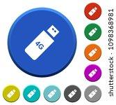 fourth generation mobile stick... | Shutterstock .eps vector #1098368981