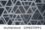 abstract gray metallic...   Shutterstock .eps vector #1098370991