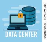 data center technology | Shutterstock .eps vector #1098395201