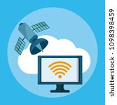 data center technology | Shutterstock .eps vector #1098398459