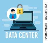 data center technology | Shutterstock .eps vector #1098398465