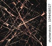 golden splatter spots on dark ... | Shutterstock .eps vector #1098408527