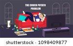 illustration vector flat... | Shutterstock .eps vector #1098409877