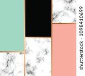 vector marble texture design... | Shutterstock .eps vector #1098410699