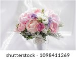 beautiful wedding bouquet | Shutterstock . vector #1098411269