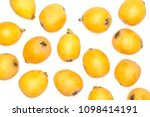 fresh orange japanese loquats... | Shutterstock . vector #1098414191