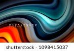 abstract wave lines fluid... | Shutterstock .eps vector #1098415037