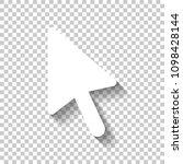 computer mouse arrow icon.... | Shutterstock .eps vector #1098428144
