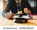 justice and law concept.male... | Shutterstock . vector #1098440525