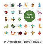 set of 33 vector icons... | Shutterstock .eps vector #1098450389