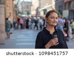 nice portrait of a middle aged... | Shutterstock . vector #1098451757